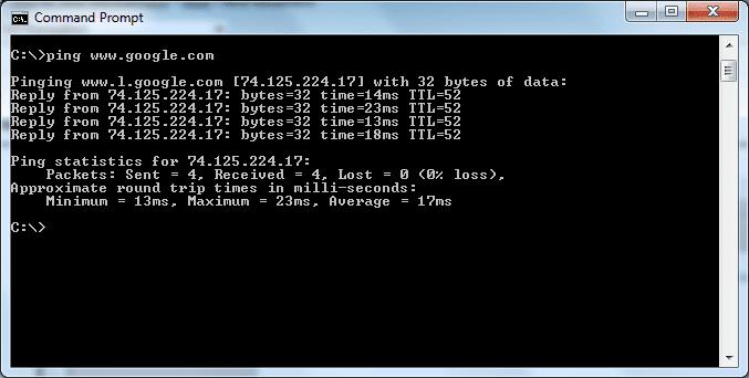 سرعت هاست لینوکس خارج و ping time